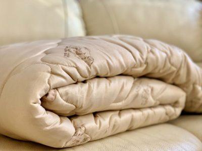 Акция на одеяла Овечья шерсть 150гр/м