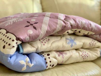 Одеяла хлопковое волокно полиэстер 3%