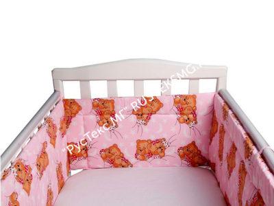 Бортик на кроватку «Сластена»